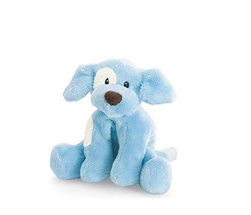 Spunky Puppy Baby Rattle - Blue ()