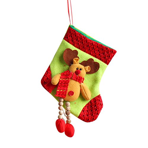 AIMTOPPY Snowman Santa Claus Christmas Apple Candy Gift Bag Sack Stocking Decoration Supplies (Snowman Make Up)