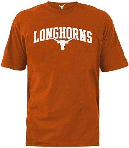 289c apparel Texas Longhorns Men's Burnt Orange Brenden Short Sleeve T Shirt (Large) ()