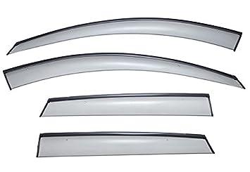 13-16 Mazda CX-5 Smoked Aero JDM Wind Deflectors Stick On Window Visors