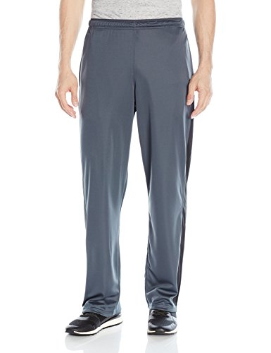 Hanes Men's Sport X-Temp Performance Training Pant with Pockets, Stealth/Black, L