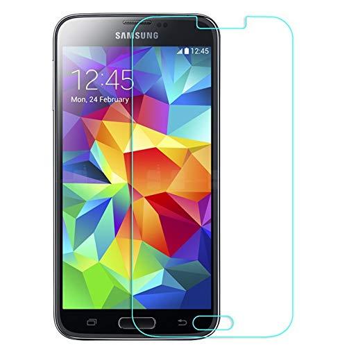 層サンドイッチ信念Asng docomo SC-04F/au SCL23 Galaxy S5 ギャラクシー 強化ガラス 液晶 保護 フィルム 2.5D 硬度9H 飛散防止 衝撃吸収 厚さ0.26mm ラウンドエッジ加工