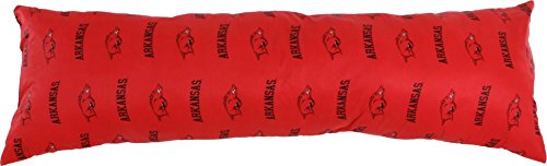 College Covers Arkansas Razorbacks Printed Body Pillow, 20'' x 60'' by College Covers (Image #5)
