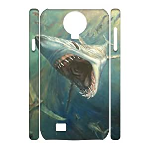 VNCASE Deep Sea Shark Phone Case For Samsung Galaxy S4 i9500 [Pattern-1]