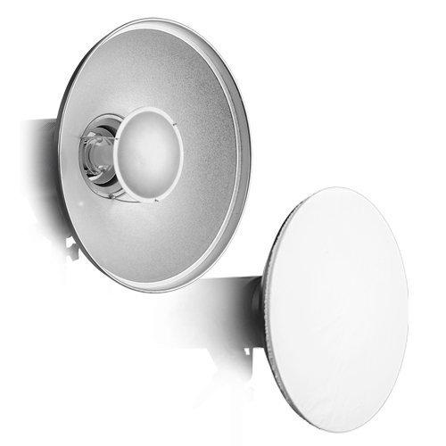 Fotodiox Pro Beauty Dish 16'' with Speedring for Alien Bees Strobe Light B400, B800, B1600