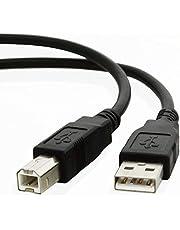 كابل يو اس بي 2.0 لتوصيل جهاز الكمبيوتر بالطابعة أو الماسح الضوئي أو القرص الصلب المتوافق مع الناقل التسلسلي العام (يو اس بي)