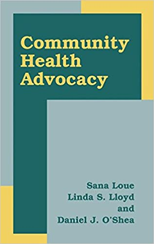 Download online Community Health Advocacy PDF, azw (Kindle)
