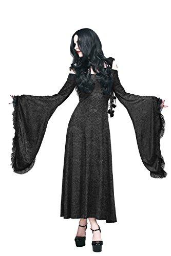 long black pirate dress - 8