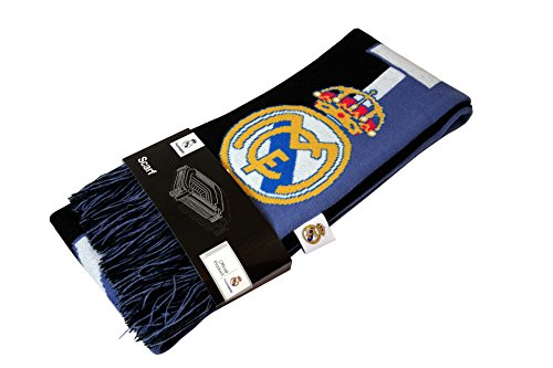 (Real Madrid C.F Authentic Official Licensed Product Soccer Scarf - 007)