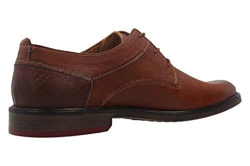 FRETZ men  71717312/26, Chaussures de ville à lacets pour homme marron marron