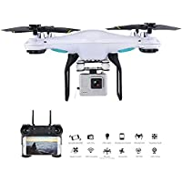 Amazingbuy FPV RC Quadcopter One Key Take Off Attitude Hold 160M WIFI FPV 480P 720P RC Drone With Camera For Beginners (With 2.0 Mp WIFI Camera)