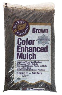 Ohio Mulch 1982-60 Absolute Brown Mulch by Ohio Mulch