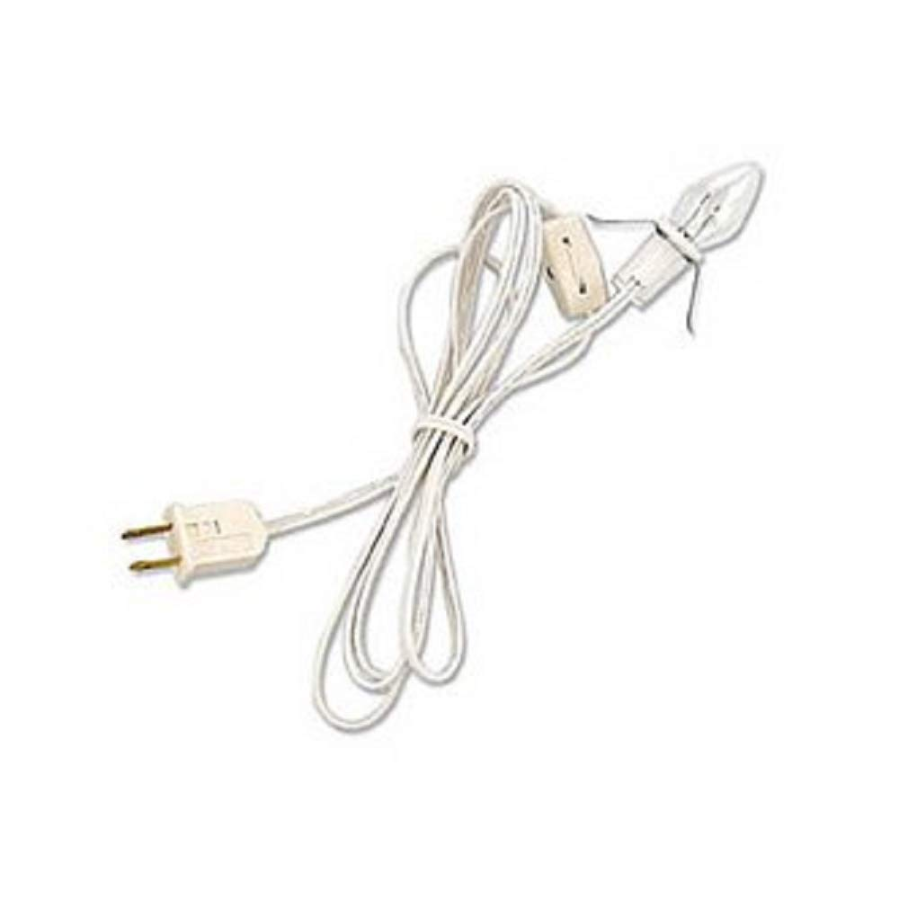 Bethany Lowe Lantern c7 Light Cord with Clear White Bulb 4 FT