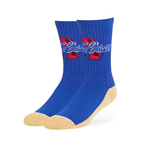 (NCAA Tulsa Golden Hurricane OTS Anthem Sport Socks, Large, Royal)