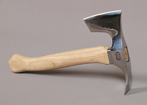 Stainless Steel Elegant Small Bearded Hatchet Axe Combined with Adze Blade