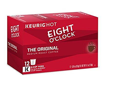 : Eight O'Clock Coffee Keurig Single-Serve K-Cup Pods, The Original Medium Roast Coffee