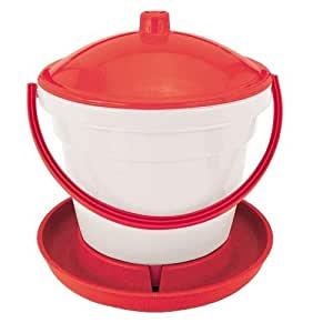 Chicken Drinker Tank with Cover Top 12Ltr - Novital