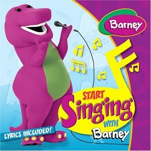 Start Singing With Barney (Barney Sing A Long Songs Cd)