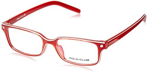 Polo Club Rectangular Frame (Red) (PC-27610|C3 52)