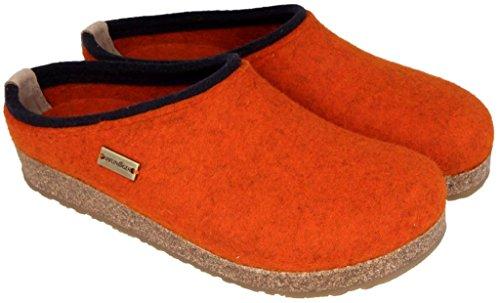 Modello Lana ruggine Pantofola Con In Plantare Haflingher Kris Rost Cotta Haflinger Anatomico qxfRpU6pw