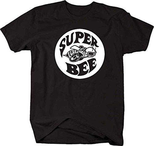 Super Bee Racing Charger Ram Racing Mopar Dodge Mens T Shirt - Medium ()