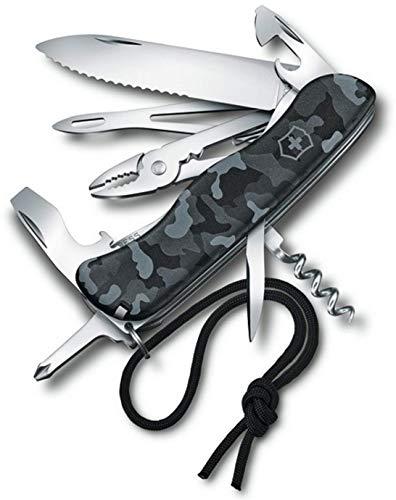 (Victorinox Skipper Navy Camouflage - Swiss Army Pocket Knife 111 mm - 18 Tools)