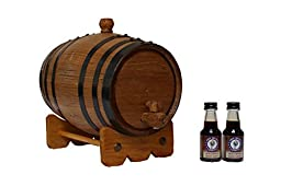 2-Liter American White Oak Barrel Bourbon Kit