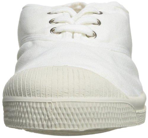 Bensimon Tennis Lacet - Zapatillas Unisex adulto Blanc 101