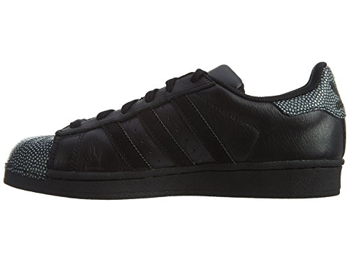 Adidas Originaux Superstar Ray Noir J Noir / Noir-blanc