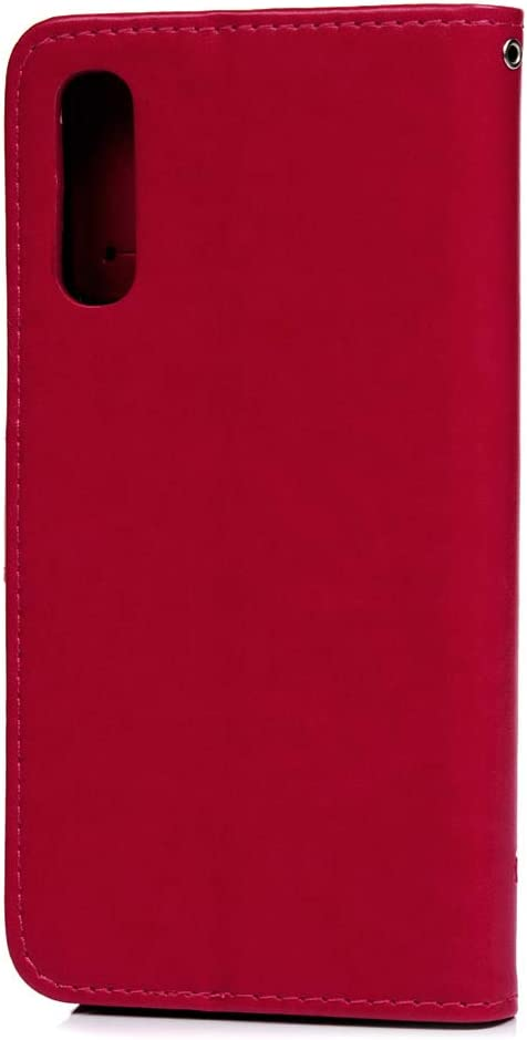 A50 Handytasche f/ür Samsung Galaxy A50 2019 H/ülle Case Leder Tasche Handyh/ülle Lotusblume Muster Wallet Flip Cover Schutzh/ülle Skin St/änder Klapph/ülle Schale Bumper Magnetverschluss Deckel-T/ürkis