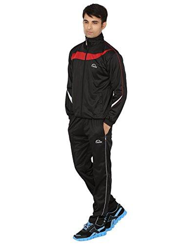KEEWI Men's Plain Striped Track Suit