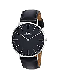 Daniel Wellington Unisex Adult DW00100133 Classic Black Sheffield 40mm Watch