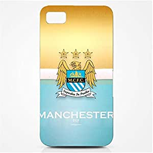 Manchester City Football Club Logo Series 3D Hard Plastic Case Cover For Htc One M7