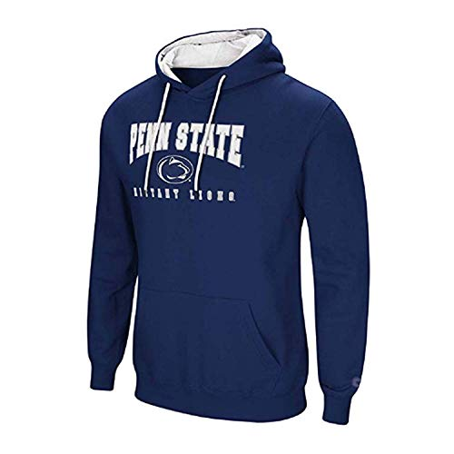 Ultimate Cotton Hooded Pullover (Colosseum Penn State University Men's Hoodie Pullover Hooded Sweatshirt (Small))