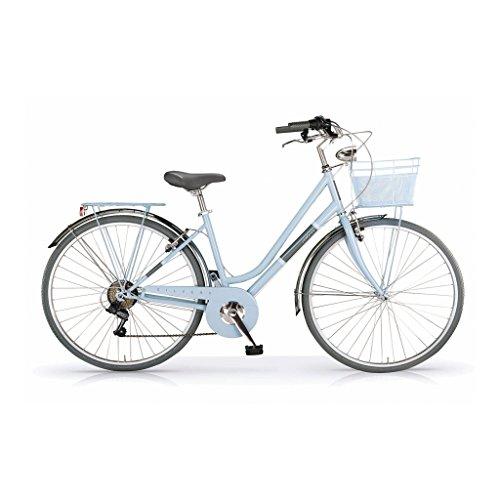Turquoise 28'' 6s MBM SILVERY Vélo ville de 16ZYT