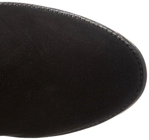 XTI Damen 65354 Reitstiefel Schwarz (Black)