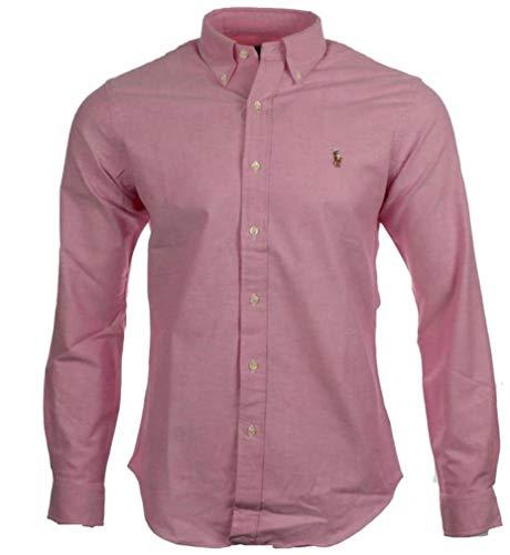 Bonbon Fit Ralph Navy Classic Poplin Rose Shirt Lauren Blue DWI2EH9