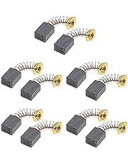 5 paar Motor Grinder Carbon Borstels CB411 6x9x12mm Compatibel met Makita RT0700C 3707F 3708F 3708FC 191940-4 Power Tool vervangende onderdelen