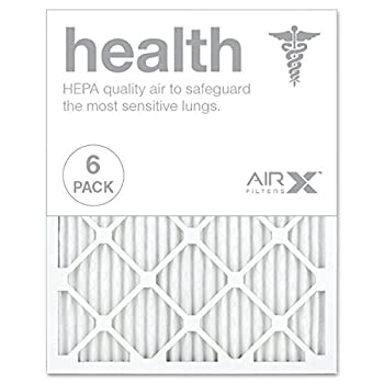 AIRx HEALTH 20x25x1 MERV 13 Pleated Furnace Filter