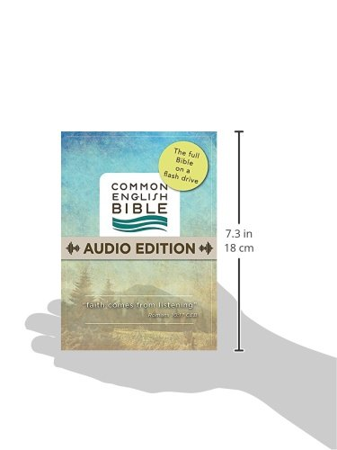 CEB Audio Edition on Flash Drive by Common English Bible