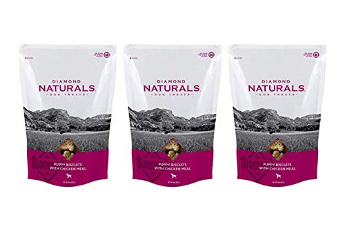 (DIAMOND Puppy Food Biscuits Chicken-3 Bags 8 oz Each)