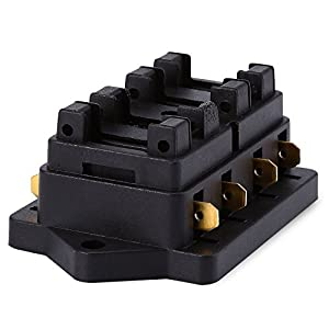 v fuse block relay automotive parts online com vstm universal car truck 4 way circuit standard blade fuse box block holder 12v 24v