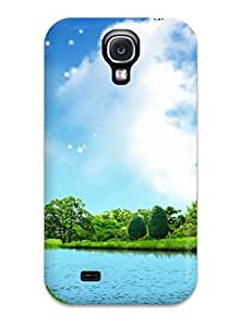 Hot Tpu Cover Case For Galaxy/ S4 Case Cover Skin - House