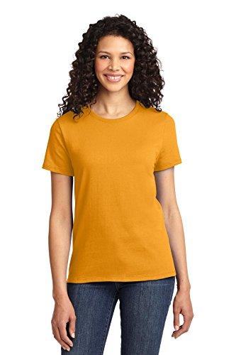 Autoridad Portuaria de puerto de la mujer & Company lpc61esencial camiseta Dorado