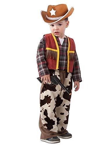 DISBACANAL Disfraz Vaquero bebé - Único, 36 Meses: Amazon.es ...