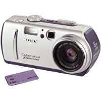 Sony DSC-P50 Cyber-shot 2MP Digital Camera with 3x Optical Zoom (Silver)