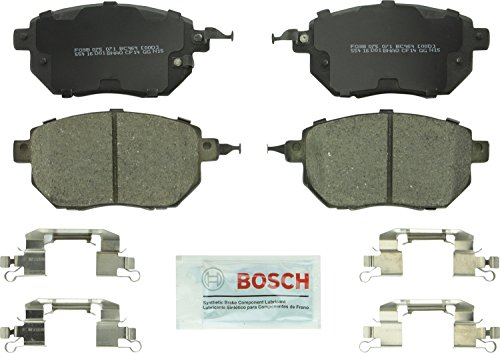 (Bosch BC969 QuietCast Premium Ceramic Disc Brake Pad Set For: Infiniti FX35, FX45; Nissan Altima, Maxima, Murano, Front)