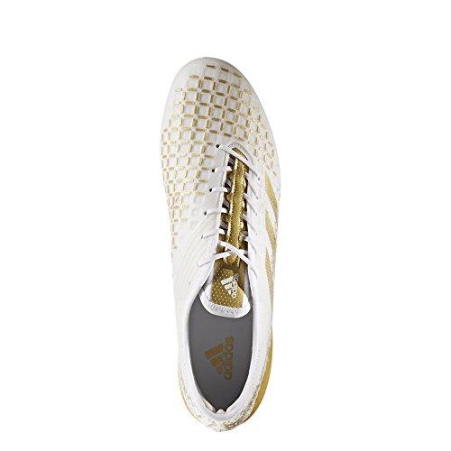 adidas Predator Malice Control Sg, Zapatillas de Rugby para Hombre Blanco (Ftwbla / Dormet / Ftwbla)