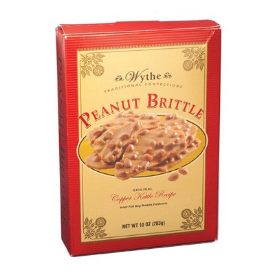 Peanut Brittle Box: 24 Count