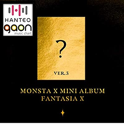Monsta X - Fantasia X [Ver. 3] (Mini Album) [Pre Order] CD+Photobook+Folded Poster+Pre Order Benefit+Others with Extra Decorative Sticker Set, Photocard Set: Arts, Crafts & Sewing
